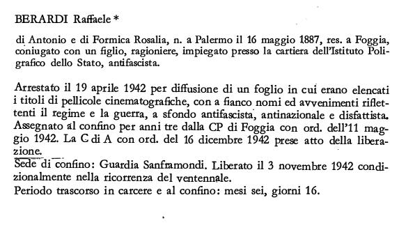 BERARDI Raffaele1